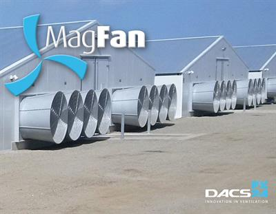 Magfan - Ultra Efficient, Energy Saving Wall Fan