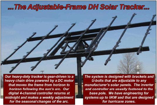 DH Solar - Dual Axis Tracker by DH Solar