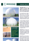 BIODOME - Double Membrane Gas Holder - Sudokwon South Korea Brochure