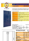 Model IS4000P series - Photovoltaic Module Brochure