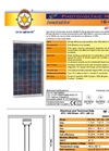 Model IS4000PS series - Photovoltaic Modules Brochure