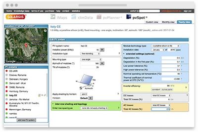 SolarGIS pvSpot - Independent PV Performance Monitoring Software