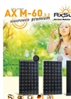 Premium HIGH POWER AX M-60 3.2 Monocrystalline Solar Cells Brochure