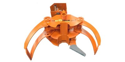 Biojack - Model 160 - Energy Wood Grapple for Loaders