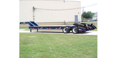 Rogers - Model 25-ton TVT25 - Fixed Gooseneck Trailer