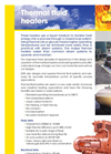 ERG - Thermal Fluid Heaters Systems - Brochure