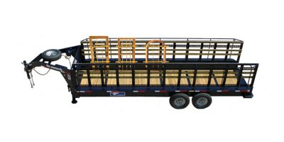 Gooseneck Trailer - Window/Glass Trailers
