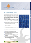 Yingli - Model YLDJ-3 - Solar Photovoltaic Panels - Brochure