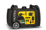 Model 100204 - 3100 Watt Portable Dual Fuel Inverter Generator