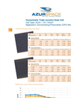 Model HNR 0004355-00-00 - Triple Junction Solar Cell Brochure