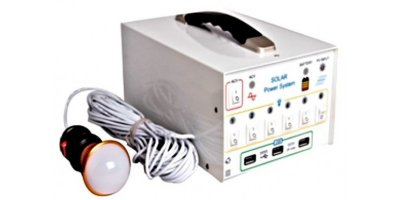 Model 10W - Portable Solar System Generator For Home Lighting