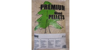 DIN Plus - 6 mm Premium Wood Pellets