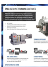 Hilliard - Enclosed Overrunning Clutches - Brochure