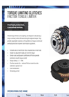 Hilliard - Friction Torque Limiter - Brochure