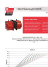 Hilliard M500 SH/HR Brake Caliper - Technical Datasheet