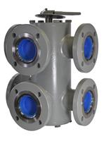HILCO - Six-Port Standard Transfer Valves