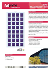 M 115130P Transparent BIPV Modules Brochure
