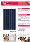 210 240 W Frameless PV Modules Brochure