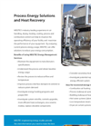 Process Energy Solutions and Heat Recovery - Brochure