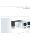 Model EVER - Energy Recovery Unit / Cellulosic Exchanger Brochure