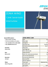 Zenia - Model 7.5KW - Wind Turbine Brochure