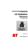 Types UV3pA, B and AB - UV Radiation Sensors - Manual