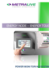 ENERGY TOUCH - Touch Screen Display for Power Analysers Energy Node Brochure