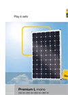 Sigma - Model Premium L mono - Photovoltaic Modules - Brochure