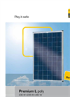 Sigma - Model Premium L poly - Photovoltaic Modules - Brochure