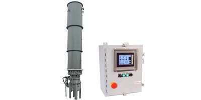 Shand & Jurs Biogas - Model 97311T - Enclosed Burner with Touch Screen Control Panel