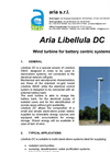 Libellula - Model DC - Wind Turbines Datasheet