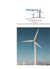 WESPA - Model 750KW - Wind Turbine Datasheet