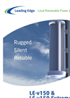 Leading Edge - Model LE-v150 - Vertical Axis Turbine Brochure
