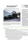 MobileMill - Autonomous Mobile Power System  Brochure