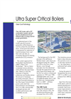 Ultra Super - Critical Boiler Brochure