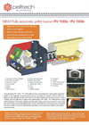 Model PV 100b and PV 180b - Fully Automated Pellet Burners Brochure
