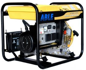 Able - Model KP3BR1OPEN - 3KVA 240V Open Frame Single Phase Diesel Genset
