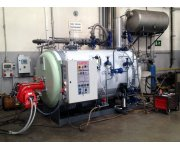 ATTSU RL Steam boiler for animal fat combustion