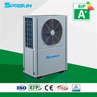 SPRSUN - Model CGK/C-12(L) - EVI heat pump for heating or heating + hot water function