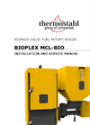 Model MCL Bio - Biomass Pellet and Wood Boiler Brochure