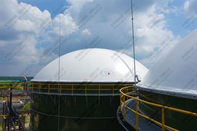 AMOCO - Model AMB - biogas holder projects in  Pekanbaru Indonesia
