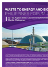 Waste to Energy and Biogas Philippines Forum - 2017 - Agenda