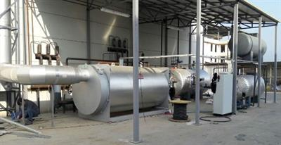 Hot Oil Boilers Fired by Liquid and Natural Gas