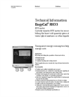 EngyCal RH33 BTU Meter - Technical Information