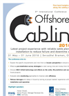 5th International Conference Offshore Cabling 2016 Brochure