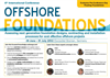 6th International Conference Offshore Foundations 2016 Agenda - Brochure
