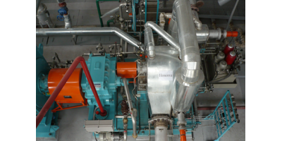 Model TG  - Axial Steam Back Pressure Turbines