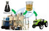 Used motor oil  to diesel fuel recycling machine