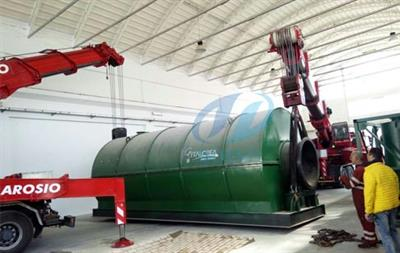 DY  - Model DY 6T 8T 10T  - Tyre to oil recycling process plant
