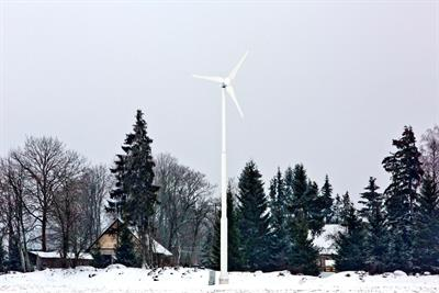 TUGE - Model 10 - TUGE 10 small wind turbine